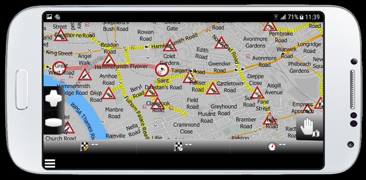 mapfactor Navigator - map with Live HD traffic info