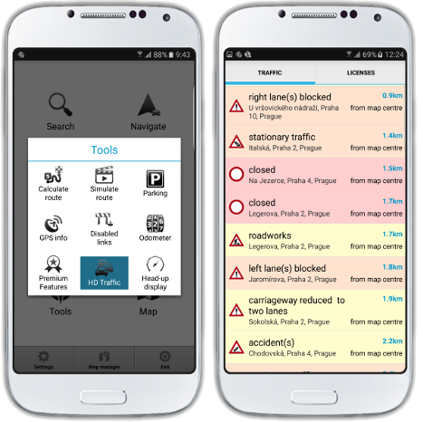 About - MapFactor Navigator 3 0 for Android now offers live