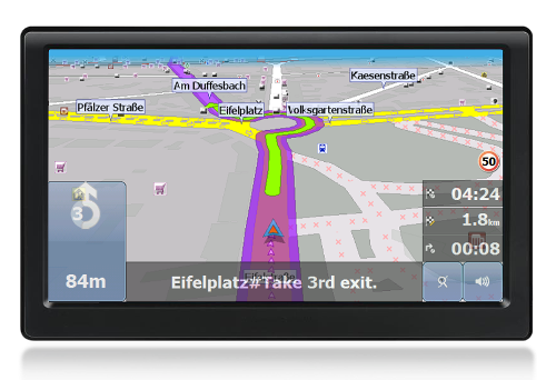 GPS navigation device actis 8 standard
