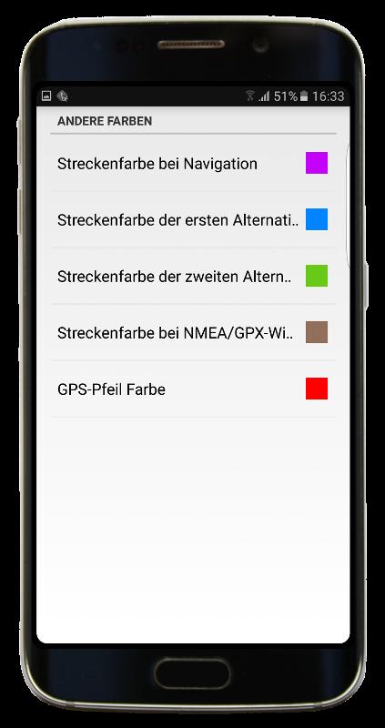 Navigator 2.2 - Andere Farben