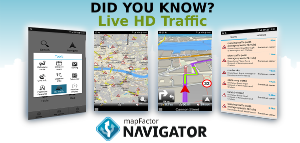 Support - 14  Live HD Traffic information | mapFactor