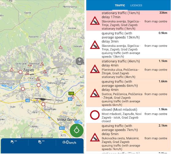 HD traffic Croatia