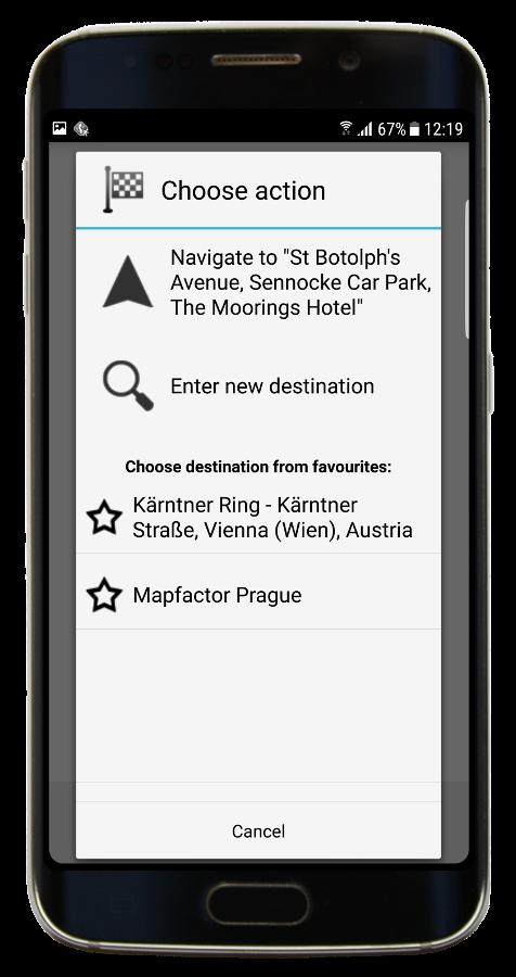 Navigator 3.1 - new Navigate dialog