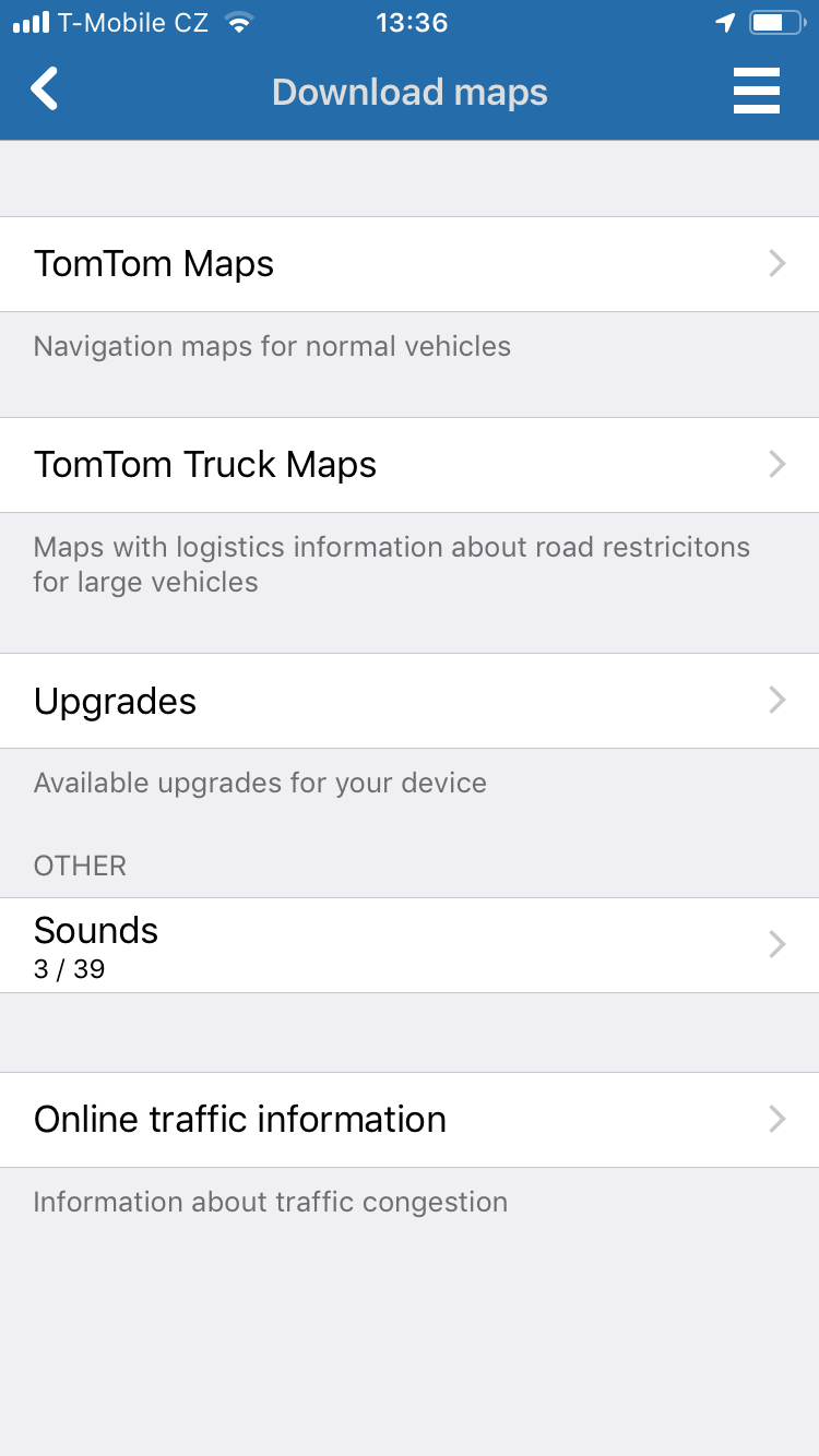 Navigator 2.0 for iOS - Buy HD traffic feature