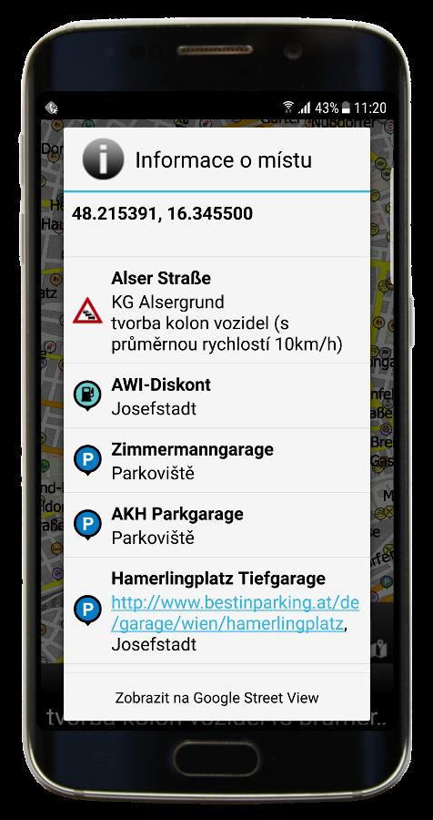 Navigator 3.1 Info - GPS pozice a HD Traffic informace