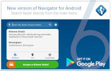Navigator 6 for Android released