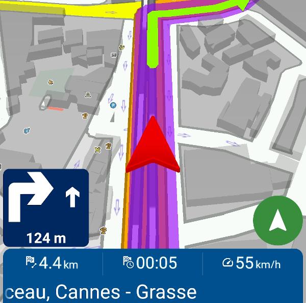 Mapfactor Navigator 6 - Infopanely