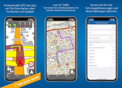 Navigator PRO (iOS) - Screenshot 1-3