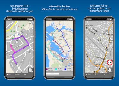 Navigator PRO (iOS) - Screenshot 4-6