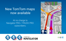 New TomTom maps now available