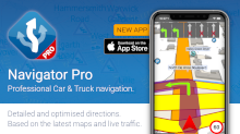 Navigator PRO for iPhones released