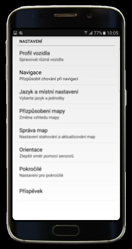 Navigator 2.2 - Nastavení