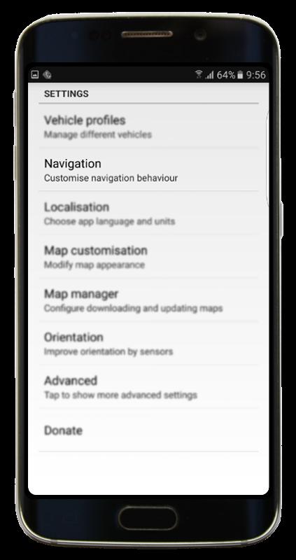 Navigator 2.2 - Settings