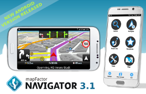 About - MapFactor Navigator 3 1 - a new user interface and