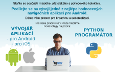volne pozice Android Python