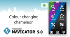 New Android version: Navigator 5.0 - a colour changing chameleon