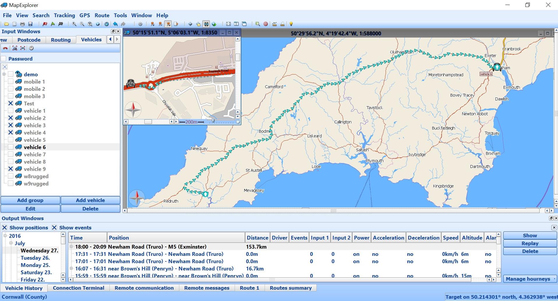 MapExplorer - Screenshot 2
