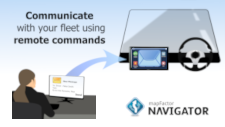 Communicate with your vehicle fleet using remote commands in Navigator